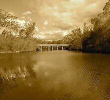 Bridge over River by agnagle