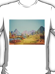 Geometric Enjoy Nature T-Shirt