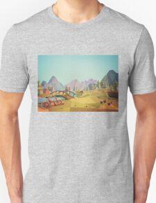 Geometric Enjoy Nature Unisex T-Shirt