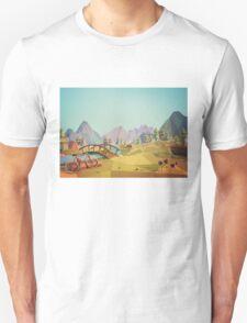 Geometric Enjoy Nature T-Shirt
