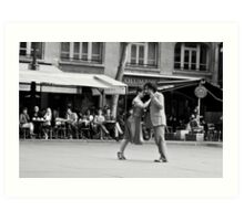 Last tango in Paris Art Print