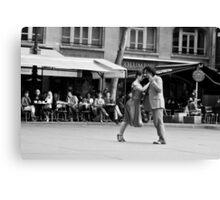 Last tango in Paris Canvas Print