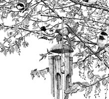 Hangin' with the Chickadees by Mike Wytinck
