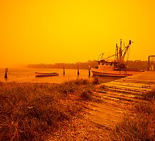 Dust Storm - Woy Woy by Matt  Lauder