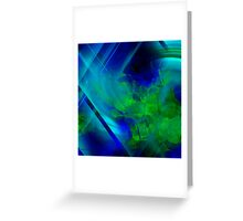Untitled Abstract- 14-  Art + Products Design  Greeting Card