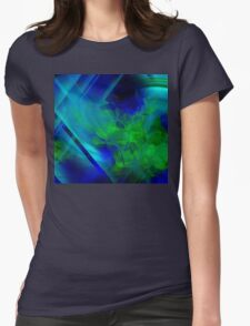 Untitled Abstract- 14-  Art + Products Design  Womens Fitted T-Shirt