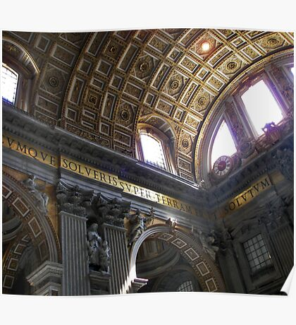 St Peters Basilica Poster