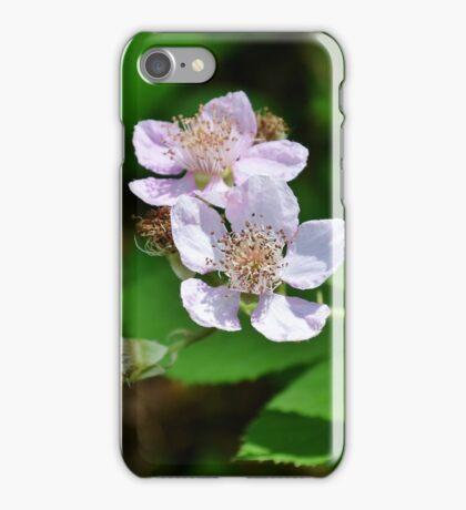 Blackberry Flowers iPhone Case/Skin