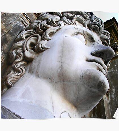 Vatican City Sculpture Poster