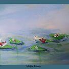 Water lilies by schiabor
