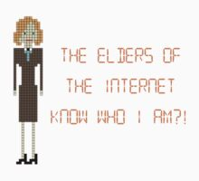 The IT Crowd – The Elders of the Internet Know Who I Am?! by PonchTheOwl