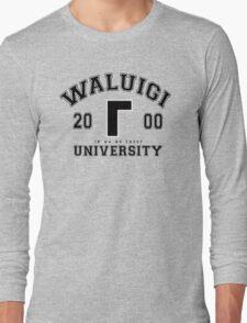 Waluigi University Long Sleeve T-Shirt