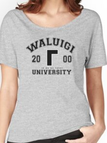 Waluigi University Women's Relaxed Fit T-Shirt
