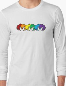 Colour Abstract Long Sleeve T-Shirt
