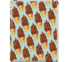 Chocolate Dip Cone Pattern iPad Case/Skin