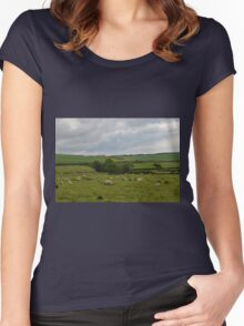 Rural England............... Women's Fitted Scoop T-Shirt
