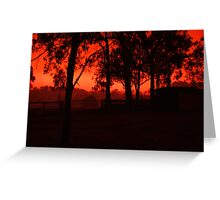 high country hills Greeting Card