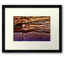 River Of Sadness Fine Art Print Framed Print