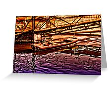 River Of Sadness Fine Art Print Greeting Card