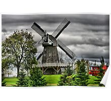 Working Windmill, Manitoba Poster