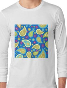 PLEASING PAISLEY-2 Long Sleeve T-Shirt