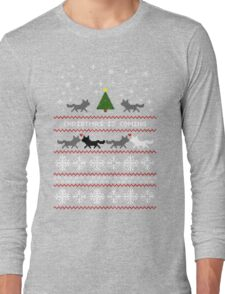 Christmas is coming Sweater + Card Long Sleeve T-Shirt