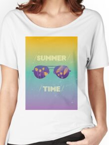Summer time Women's Relaxed Fit T-Shirt