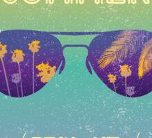 Summer time Sticker