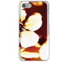 Oriental Blossom/Great White Cherry Abstract by Jenny Meehan iPhone Case/Skin
