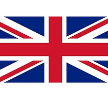 UK Flag (Union Flag) by Mark Podger
