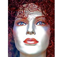 Doll Face  Photographic Print