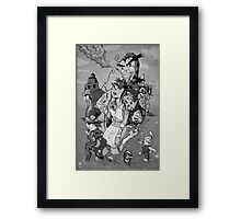 Alice takes another drink Framed Print