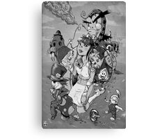 Alice takes another drink Canvas Print