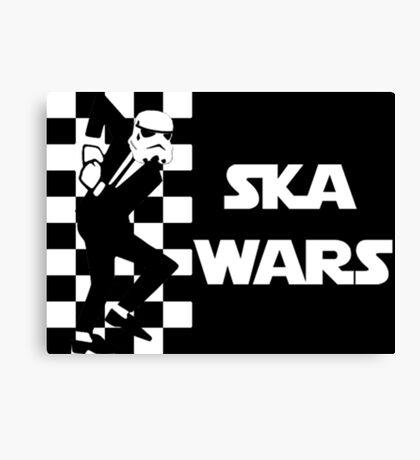 Ska Wars Canvas Print