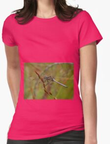 Turquoise Dragonfly Womens Fitted T-Shirt