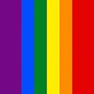 Smartphone Case - Rainbow Flag 2 by Mark Podger