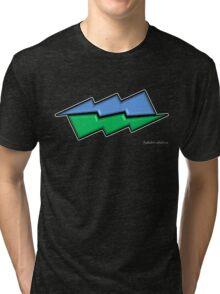 Abstract colour 2 Tri-blend T-Shirt