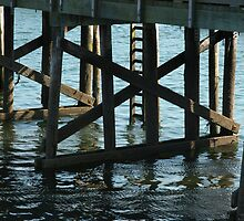 Beneath the Pier by Jayne Le Mee