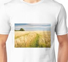 Barley Field in late summer Unisex T-Shirt
