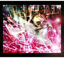 disco inferno Photographic Print