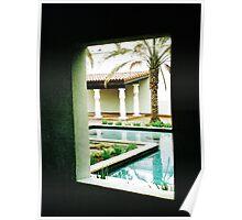 A Window, Egyptian Museum, San Jose, California  Poster