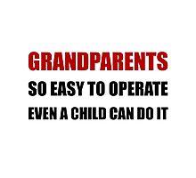 Grandparents Operate Photographic Print