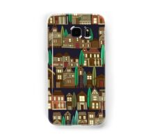 wooden buildings basalt Samsung Galaxy Case/Skin