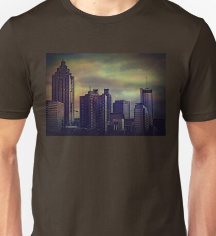 the colors of the darkening sky Unisex T-Shirt