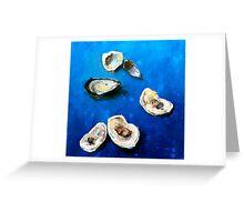 she sells sea shells Greeting Card