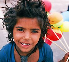 Young Indian Street Urchin by eyesoftheeast