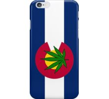 Smartphone Case - State Flag of Colorado - Cannabis Leaf 5 iPhone Case/Skin