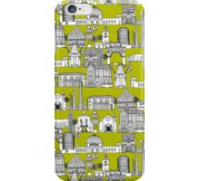 Los Angeles toile lime iPhone Case/Skin