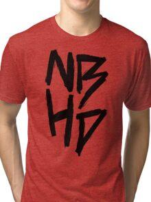 The Neighbourhood (Black on White Version) Tri-blend T-Shirt