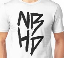 The Neighbourhood (Black on White Version) Unisex T-Shirt